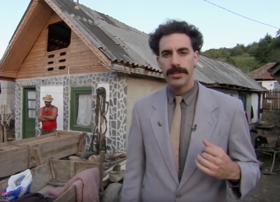 Sacha Baron Cohen Films Facts