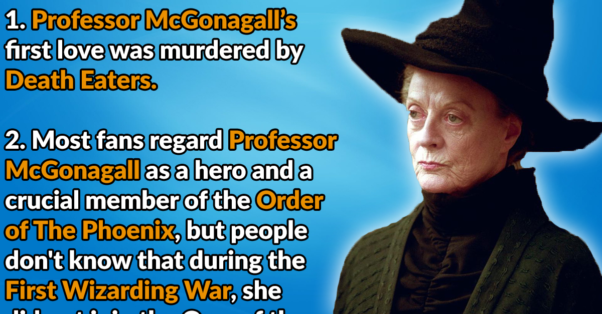 d4b1a41d4 24 Transfigured Facts About Professor Minerva McGonagall - Page 2 of 24