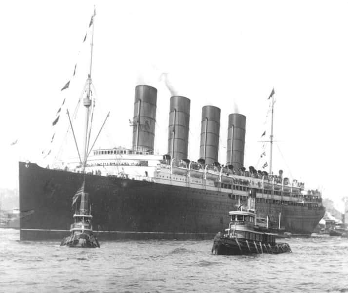 Lusitania Facts