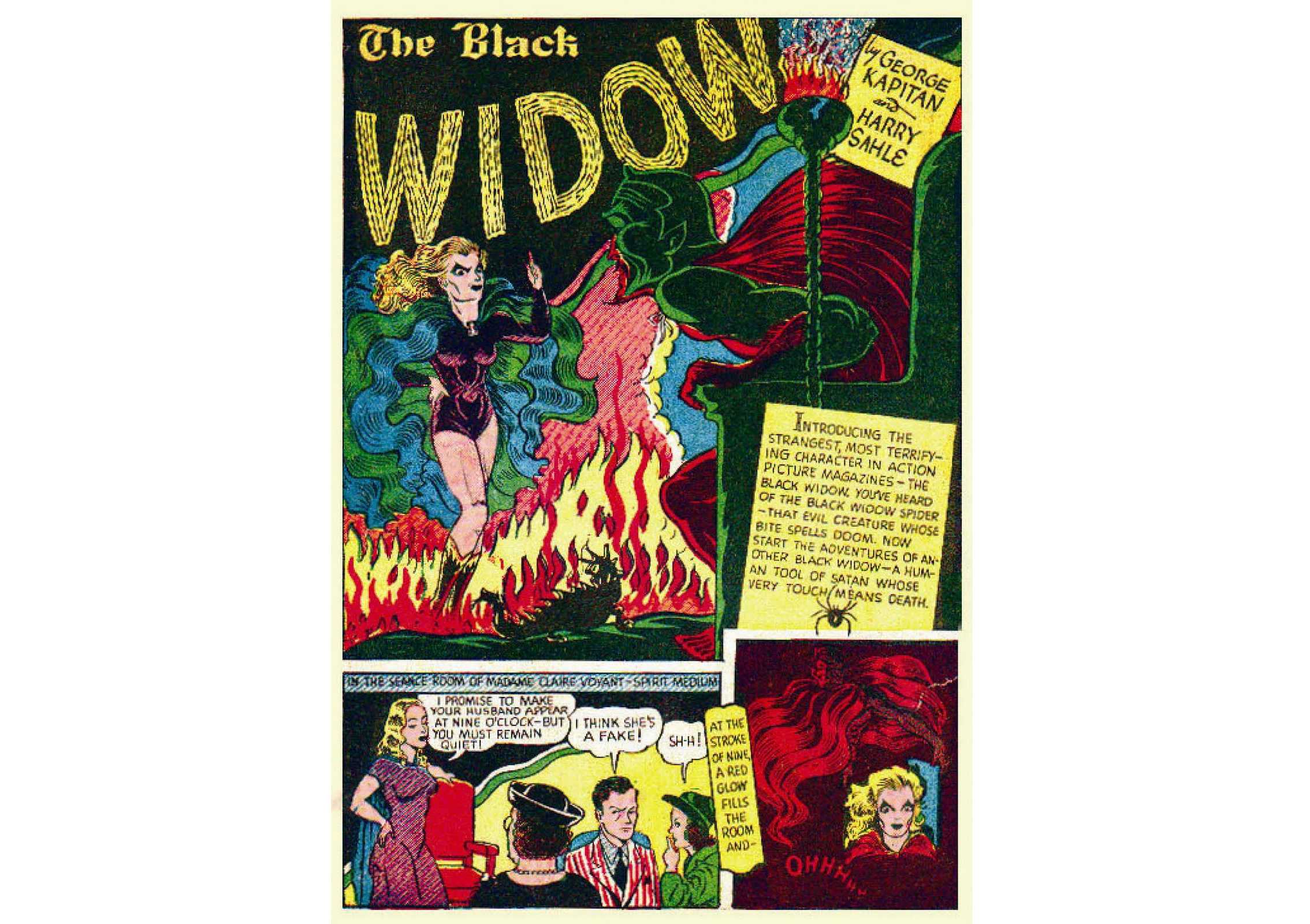 Black Widow Facts