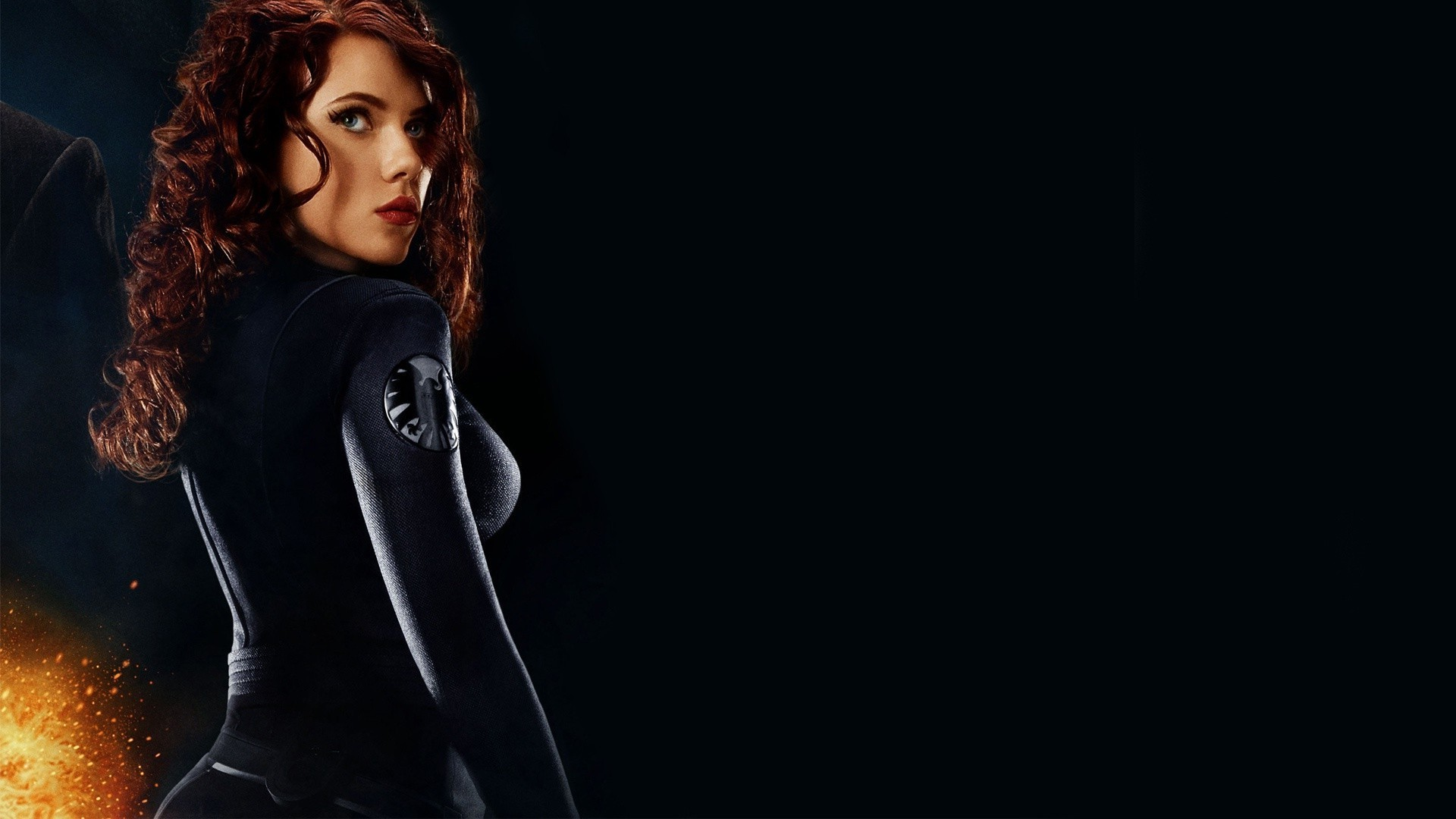 Iron Man 2 Black Background Movies Wallpaper: 42 Voluptuous Facts About Scarlett Johansson