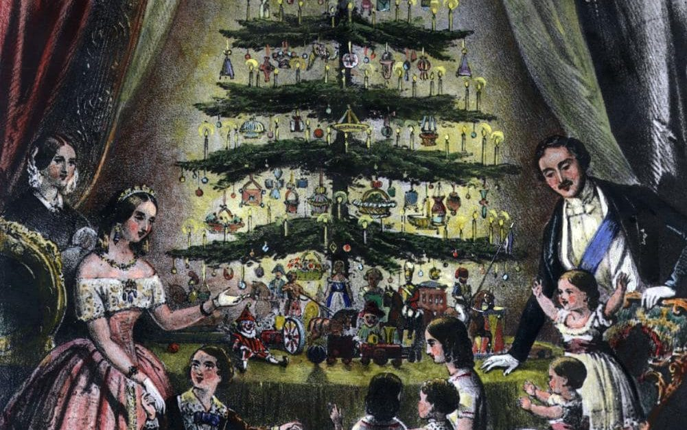 Where Christmas Tree Originated