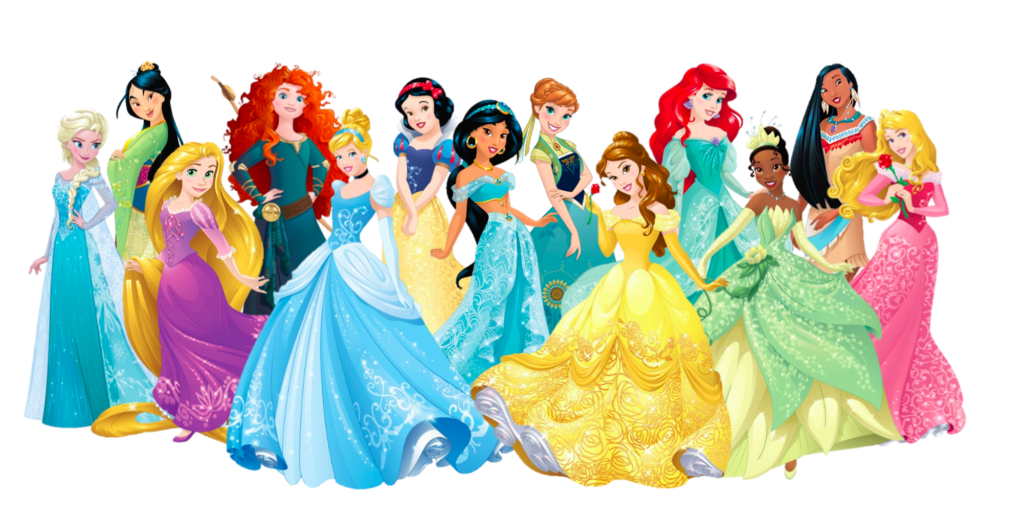 Dessin Disney: Disney Princesses From Oldest To Youngest