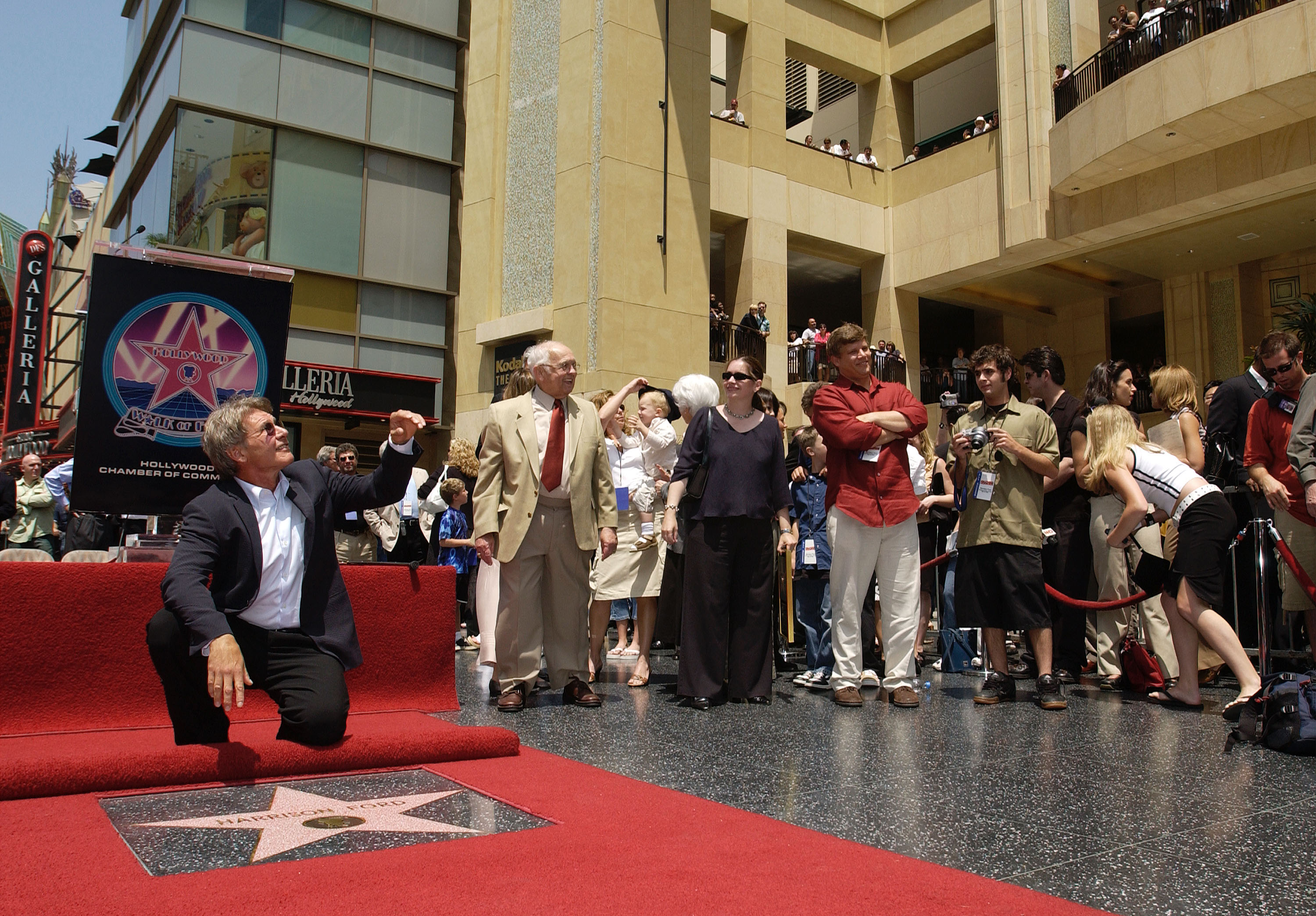 Harrison Ford Receives Star On The Hollywood Walk Of Fame