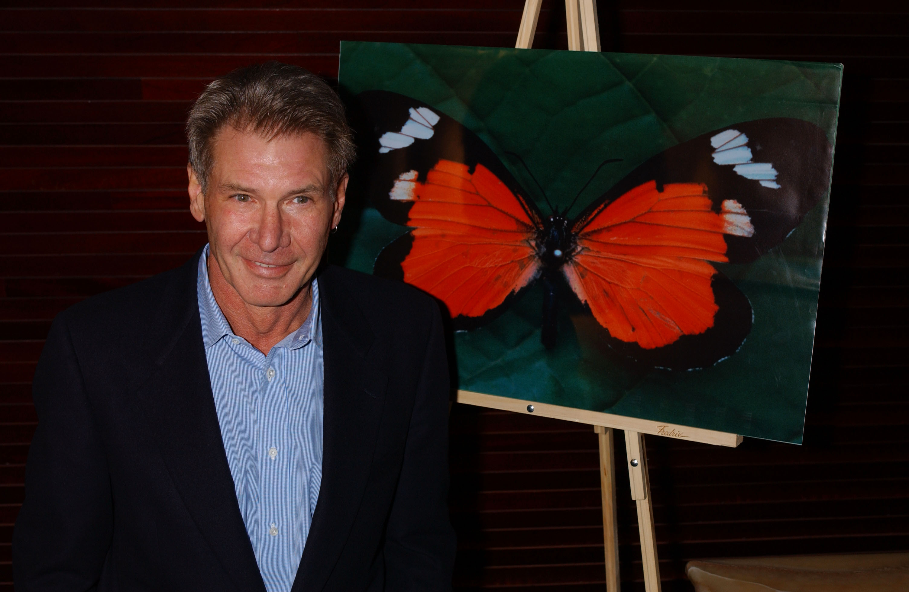 Harrison Ford Names Butterfly