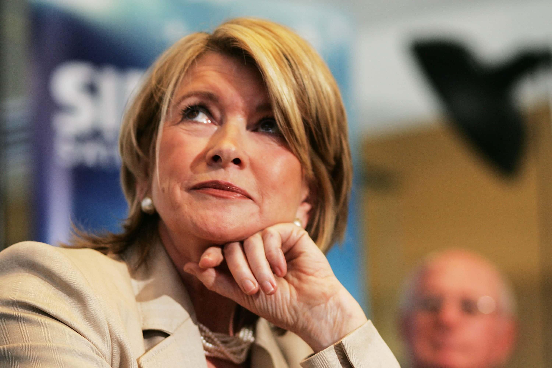 Martha Stewart And Sirius Radio Announce Deal