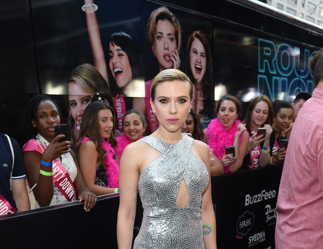 New York Premiere of Sony's ROUGH NIGHT Presented by SVEDKA Vodka