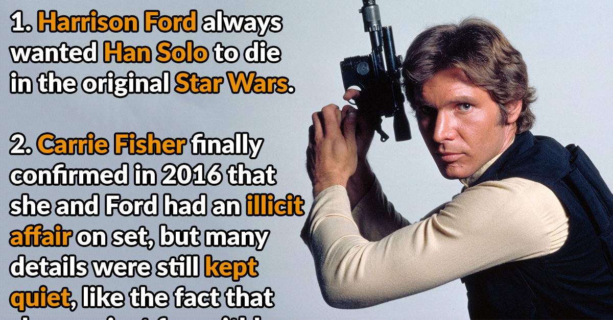 41 Rugged Facts About Harrison Ford