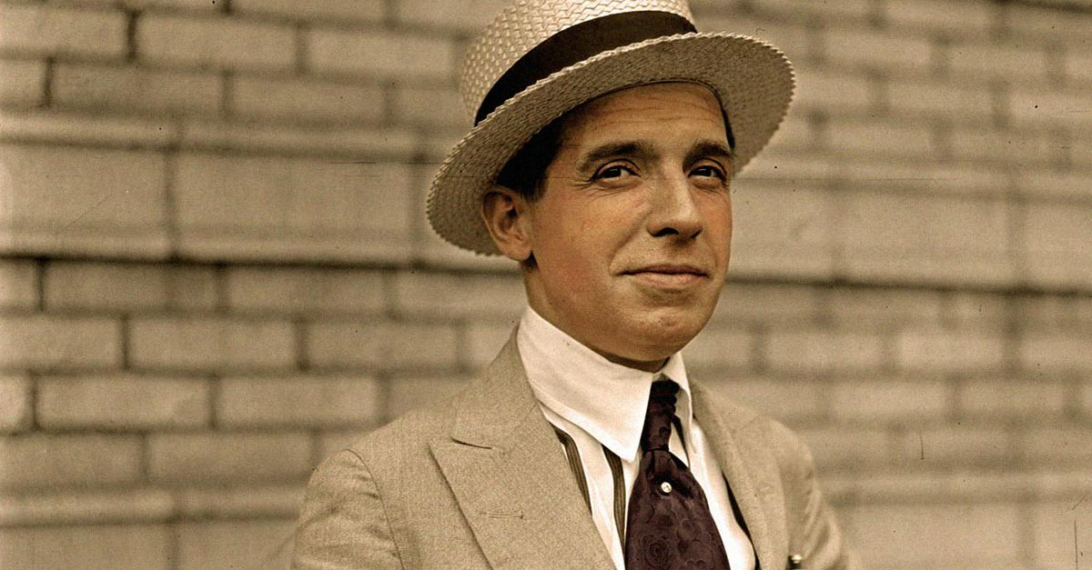 Image result for charles ponzi