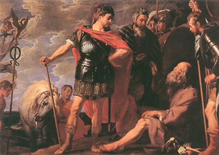 a discussion on the life struggles of alexander the great The short life and quick death of alexander the great is recounted in costar as alexander's parents fits this discussion of a 1950s sword-and.