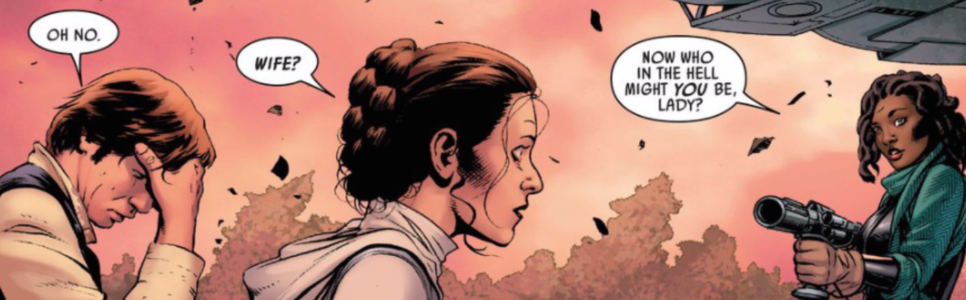 han solo and leia relationship trust