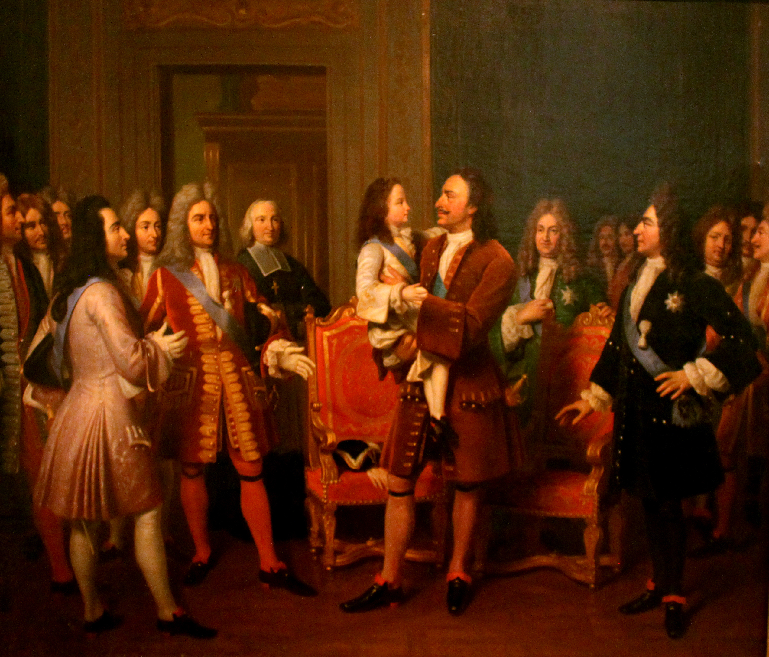 a comparison of the rule of peter the great and louis the xiv Louis xiv (louis dieudonné known as louis the great (louis le which advocates the divine origin of monarchical rule, louis continued his predecessors' work.