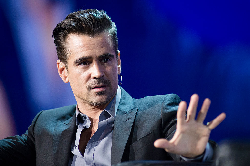 Colin Farrell Speaks at Adobe EMEA Summit
