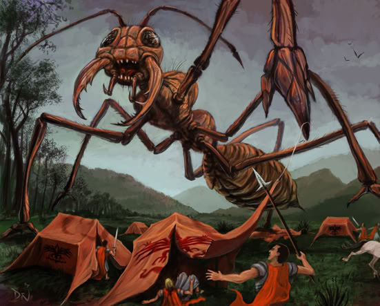 Ancient India Giant Ant Fact
