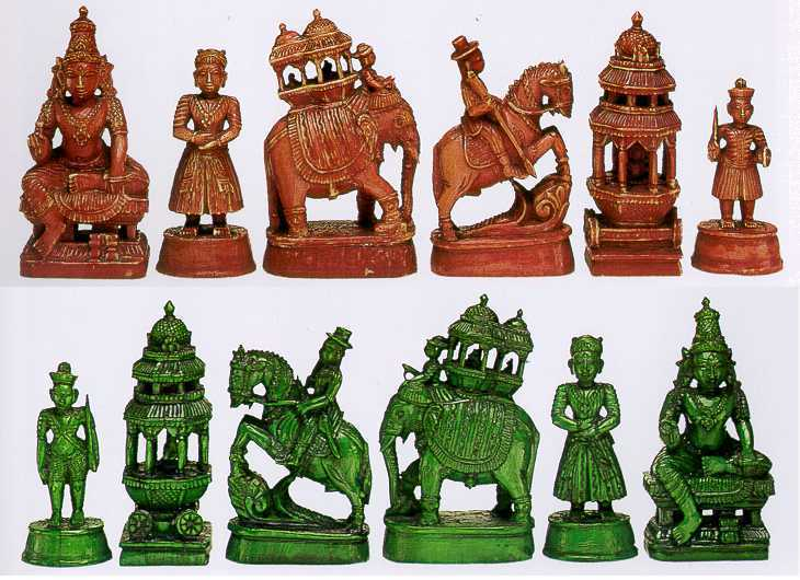 Ancient India Chess Fact