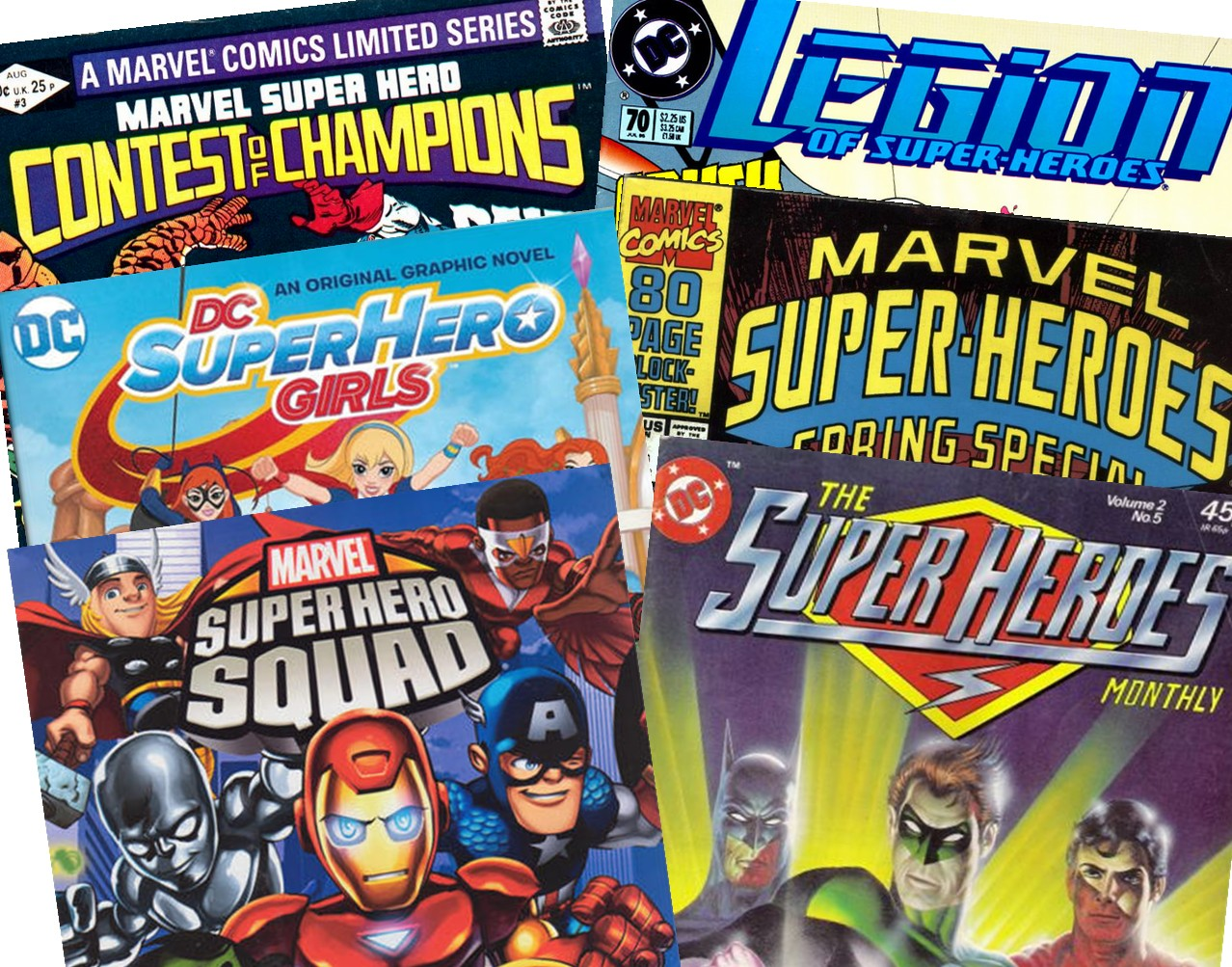 Comic books facts