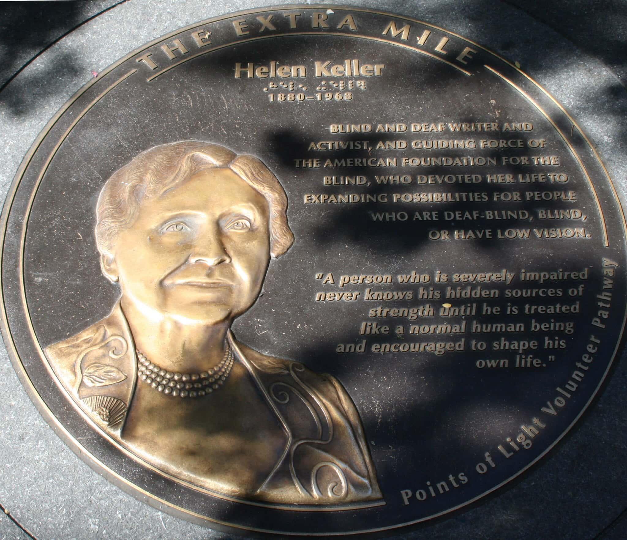 Helen Keller facts