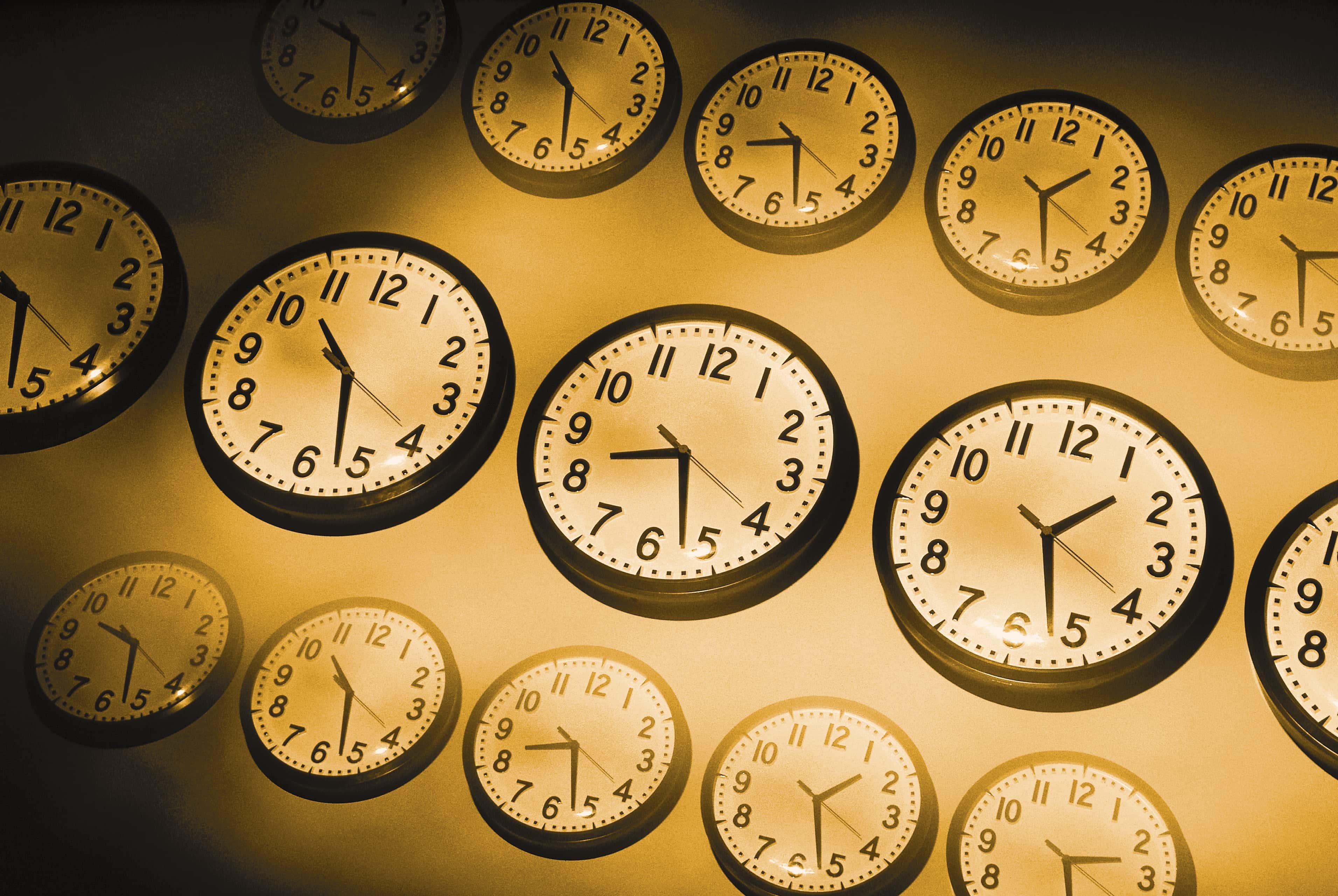 Multiple Time Zone Clocks
