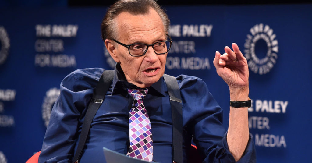 Live Facts About Larry King, The Legend Of Late Night