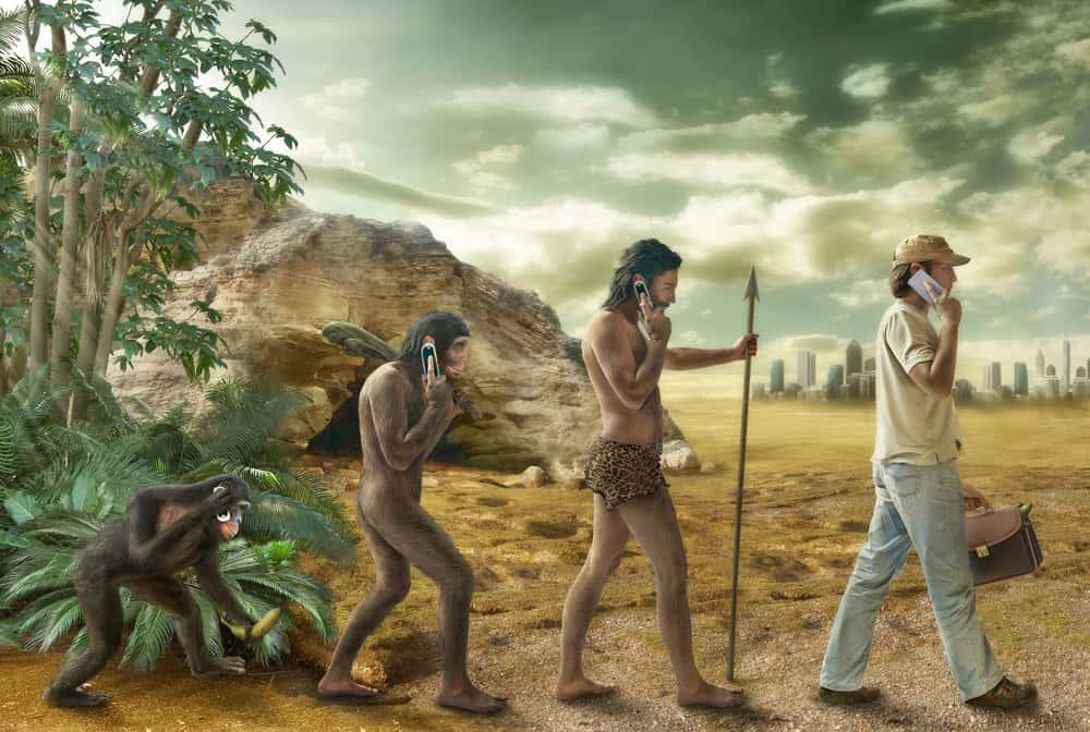 Prehistoric evolution