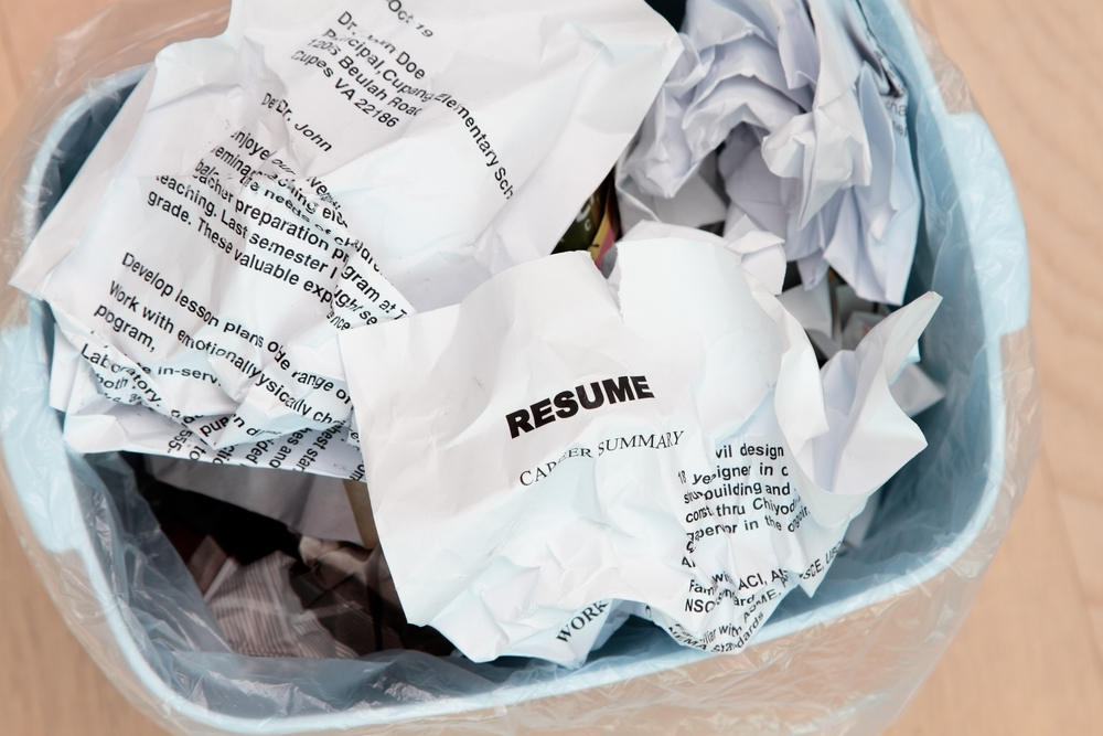 Worst Thing on a Resume facts