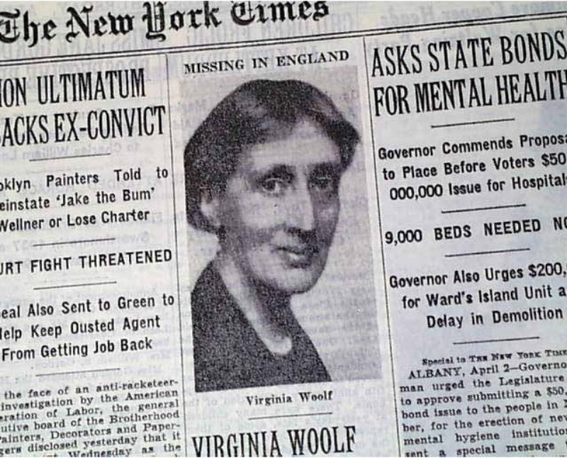 Virginia Woolf facts