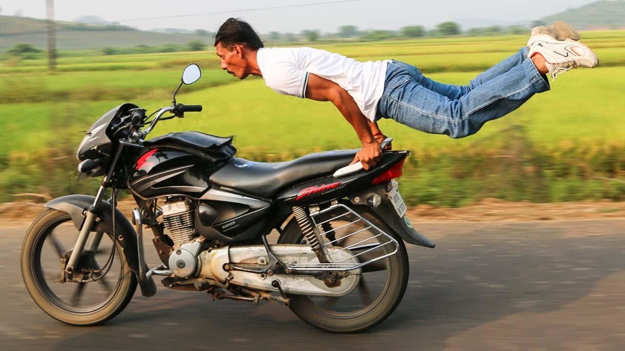 Motorbike Yoga