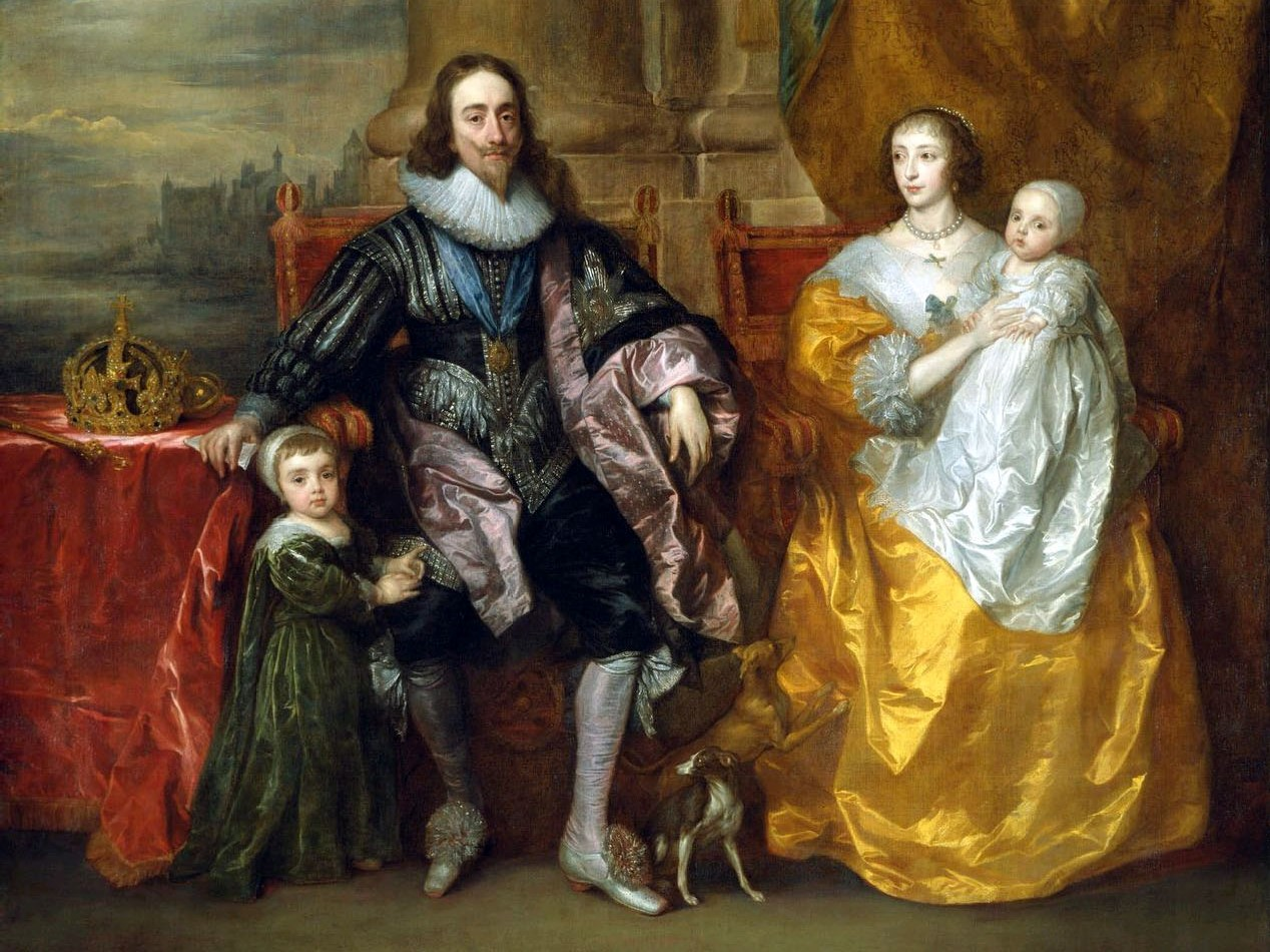 Charles I of England Facts