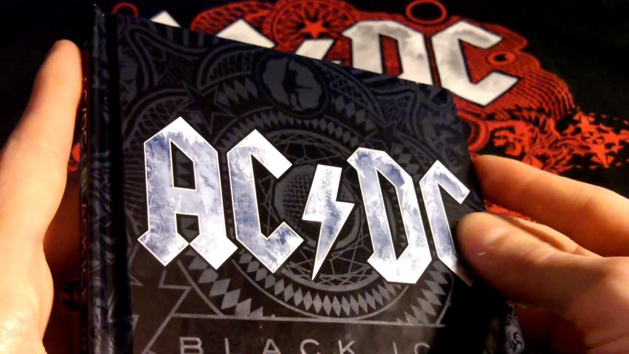 Ac/dc black ice tour berlin 2010 (cd, limited edition.
