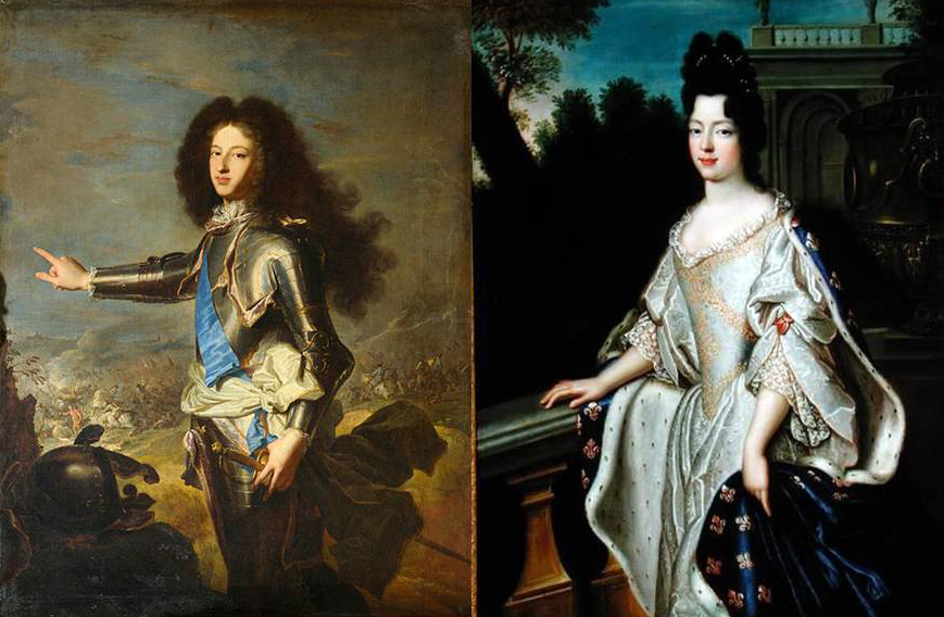 Louis XV facts