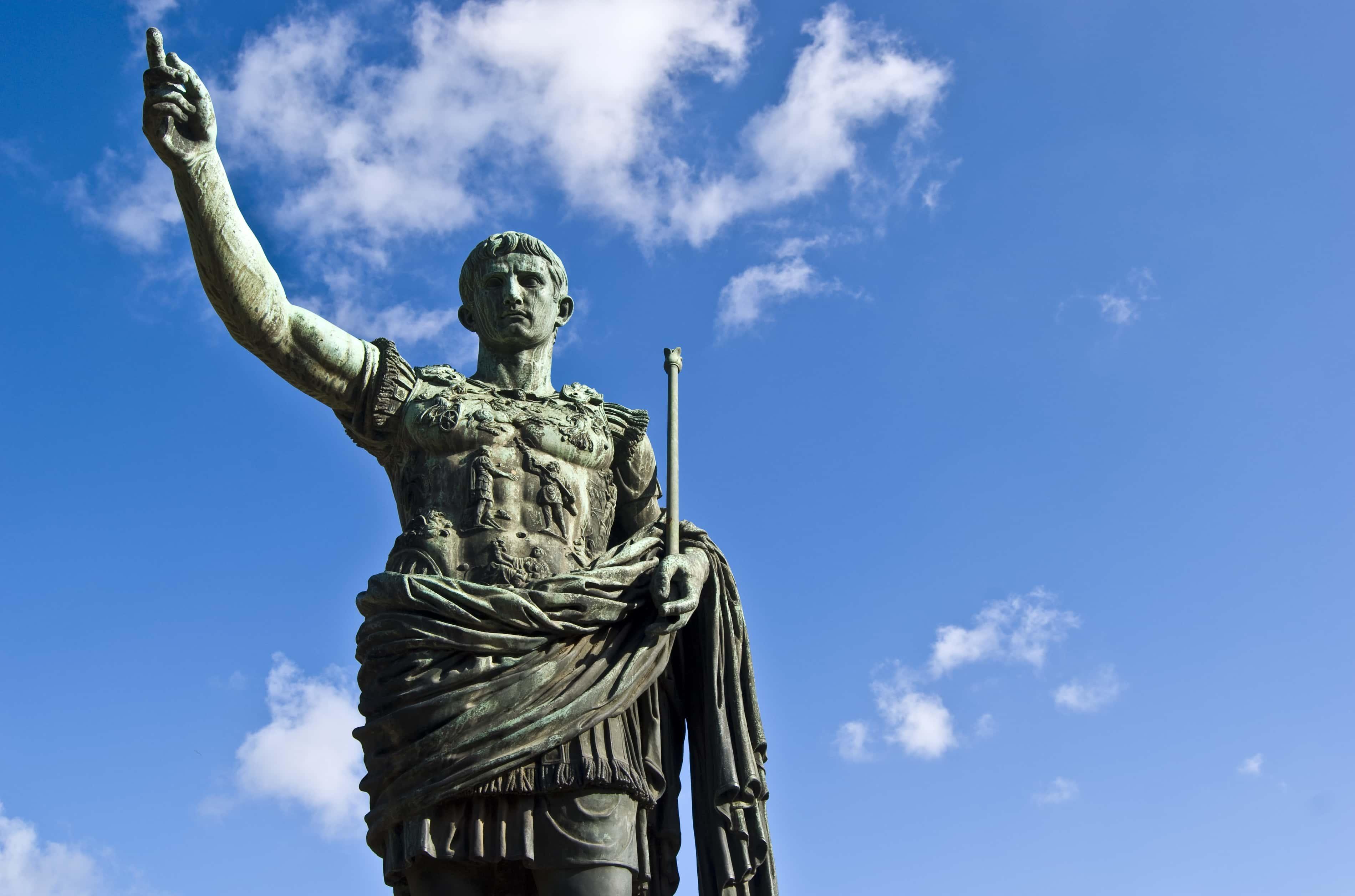 Julius Caesar, monument.