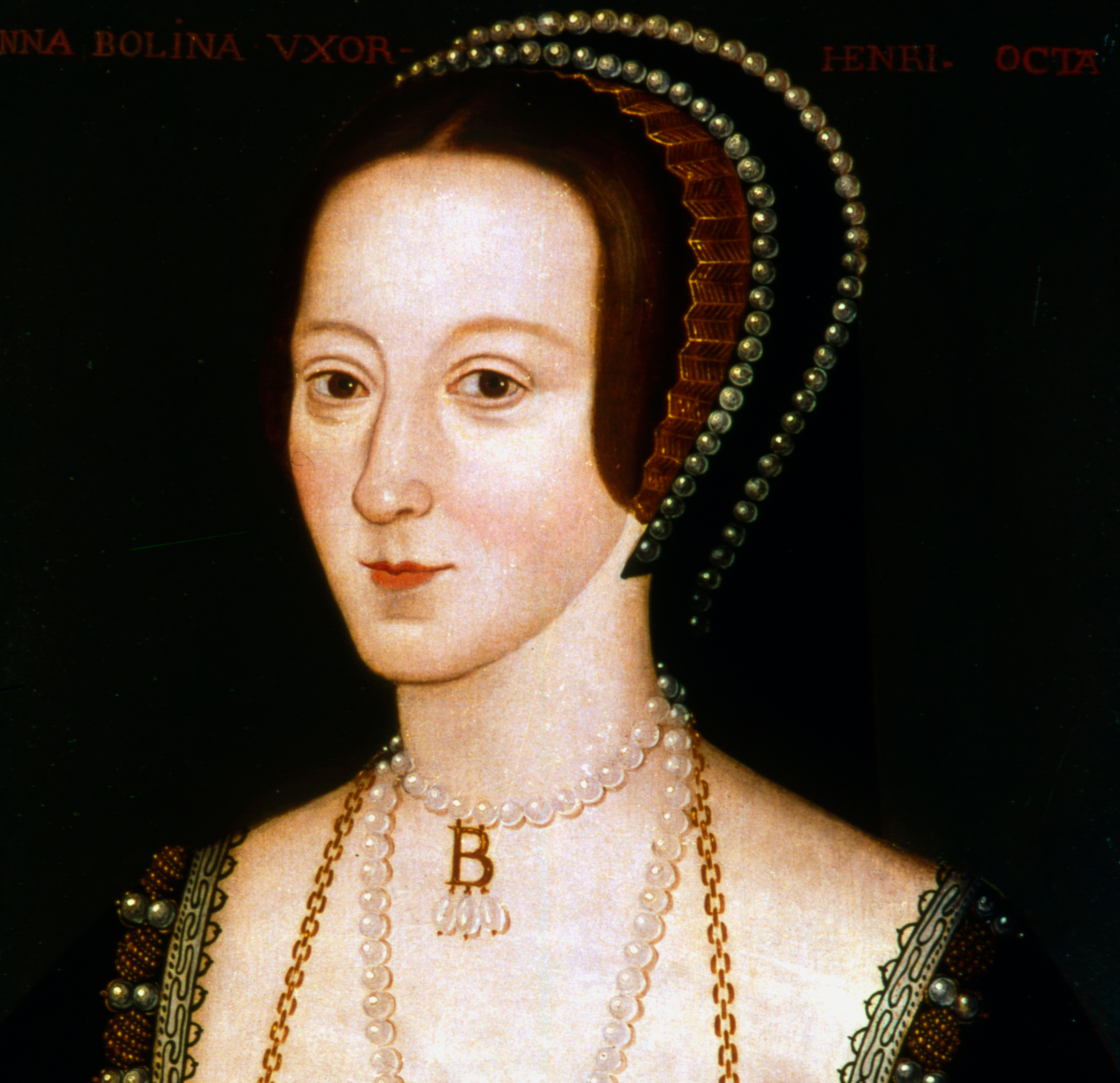 Anne Boleyn, second wife of Henry VIII, c1520-1536. Artist: Anon.