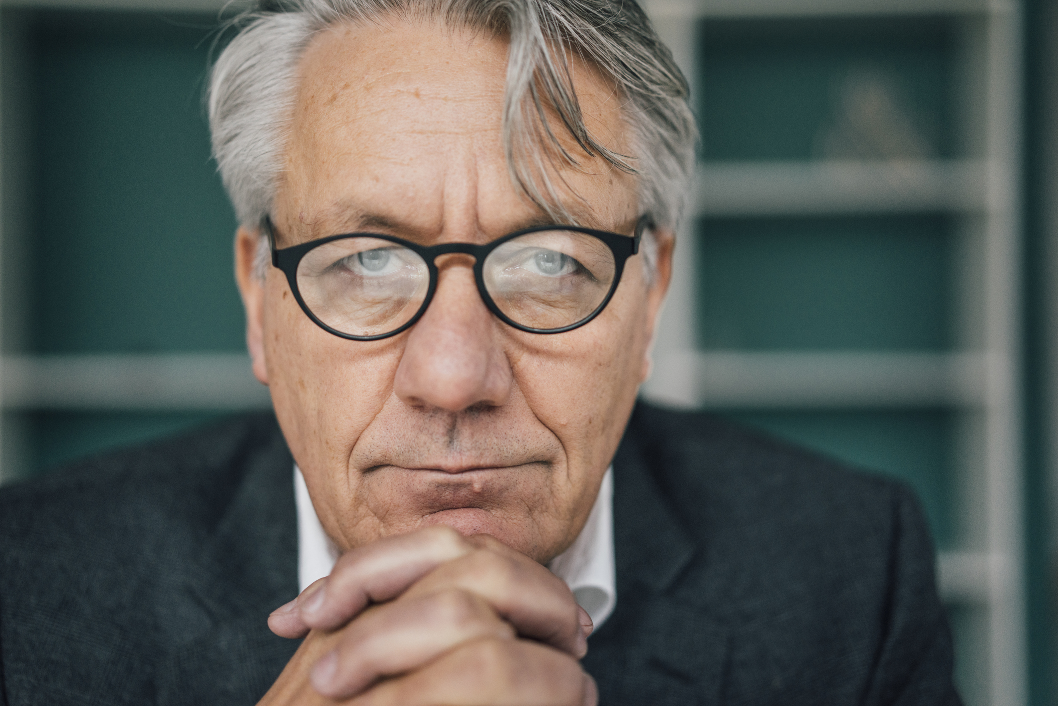 Portrait of senior businessman.