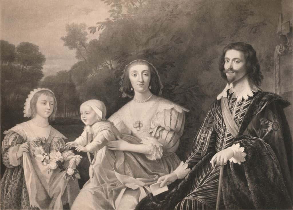 George Villiers Duke Of Buckingham And Family 1628 (1904)