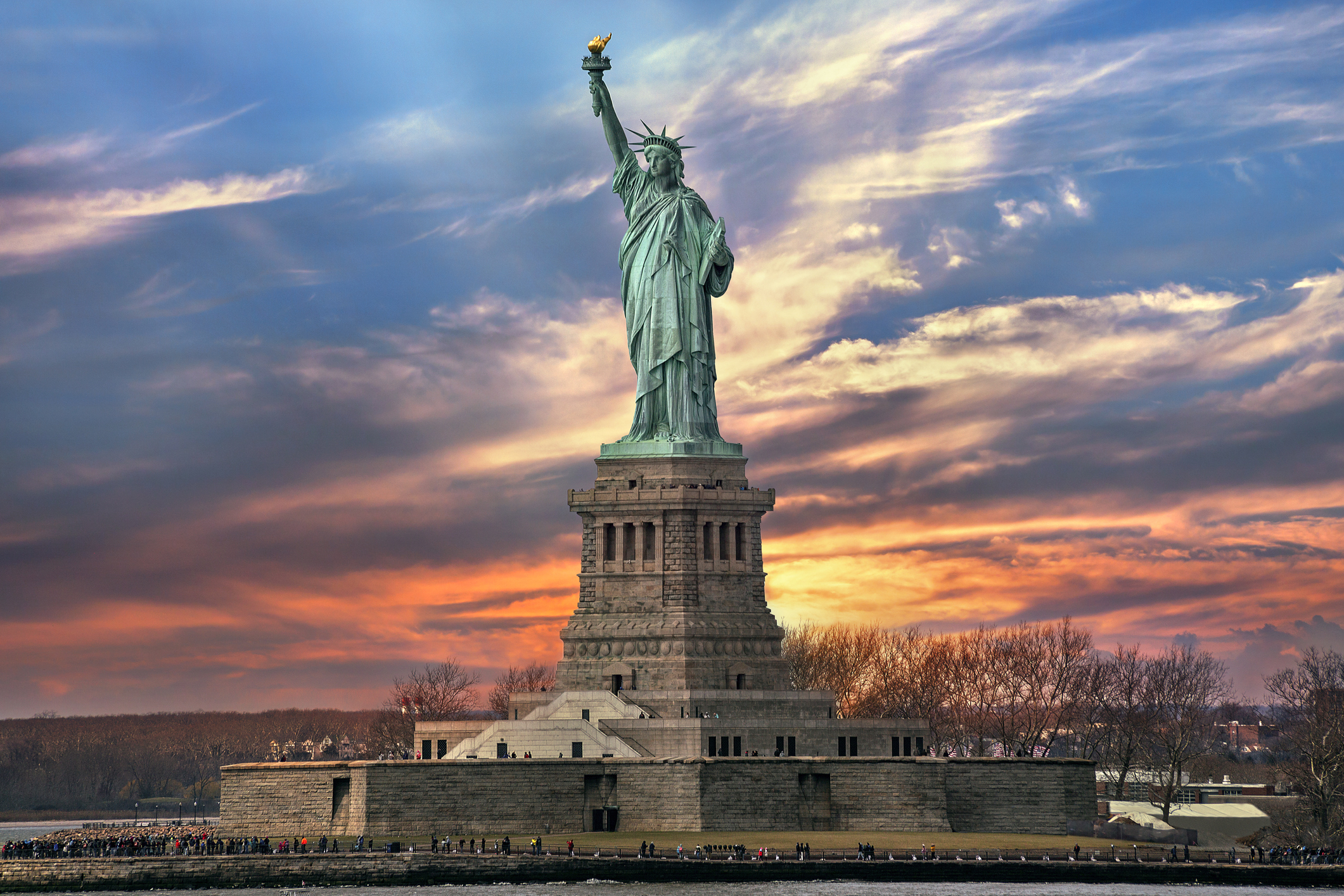 The Statue of Liberty, NYC, USA
