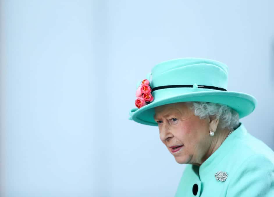 Headshot of Queen Elizabeth II.