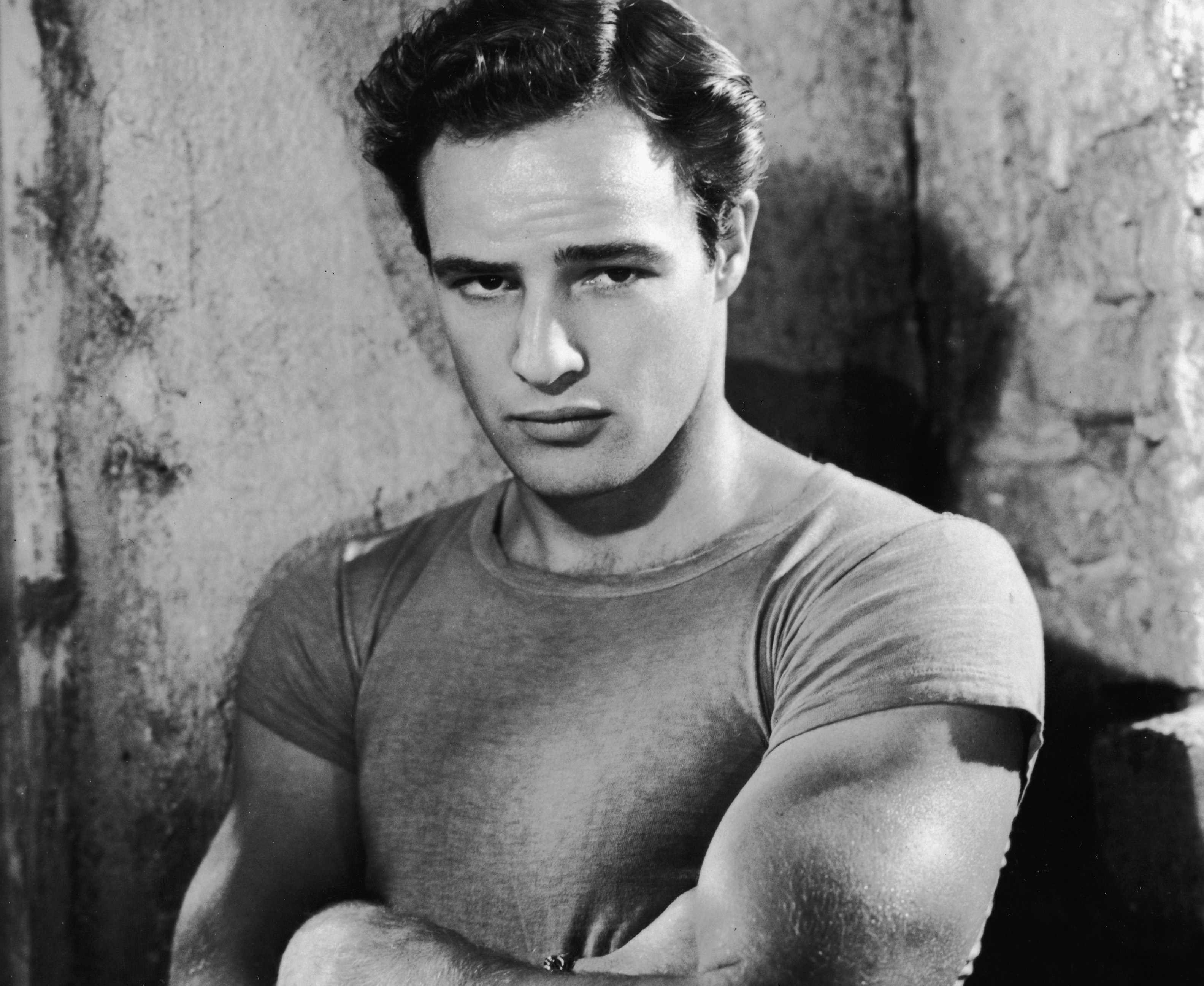Portrait Of Marlon Brando.