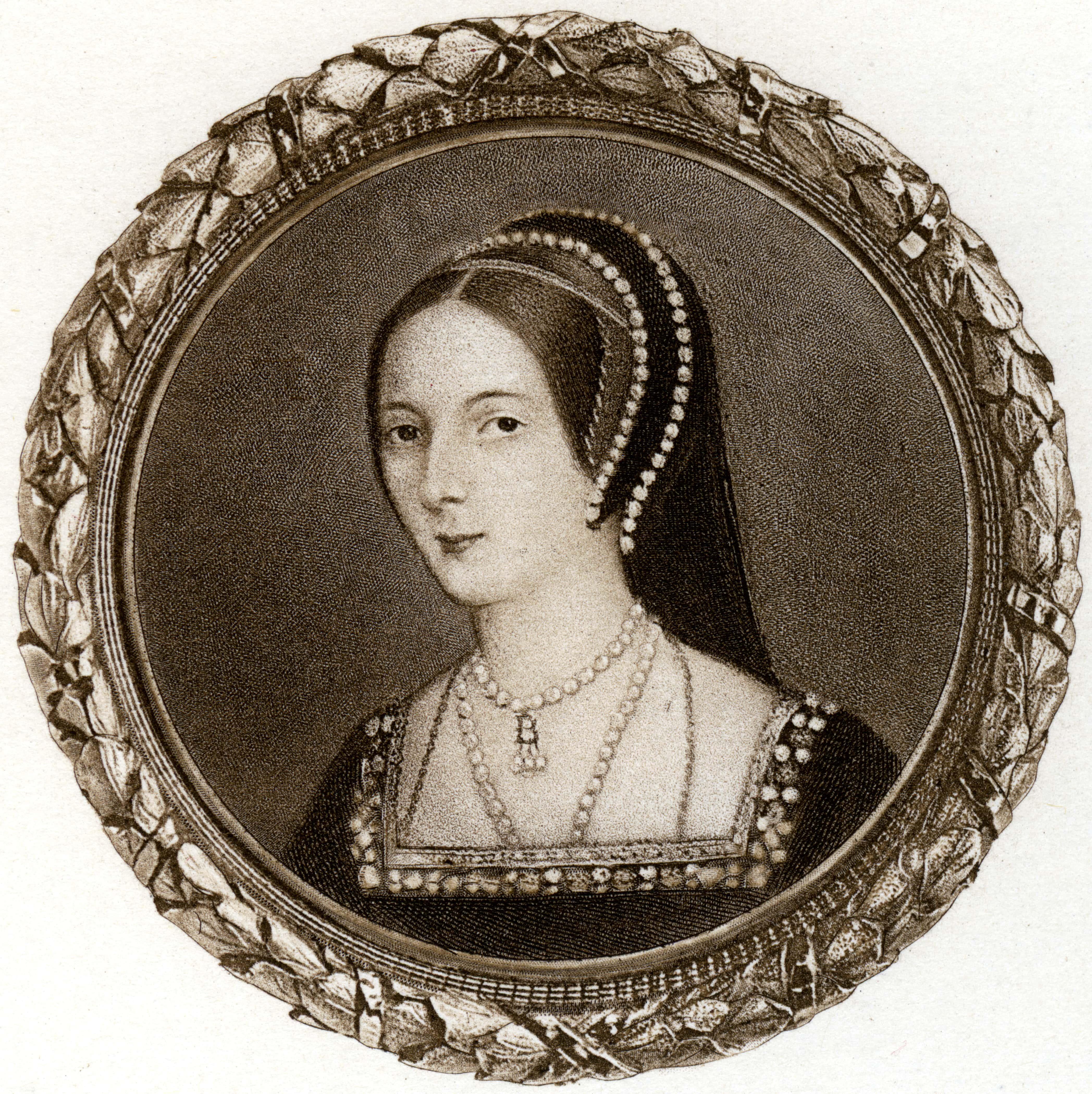 Anne Boleyn, 1530s, (1902).