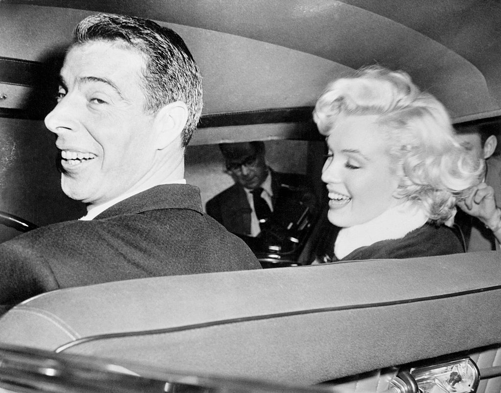 Joe DiMaggio and his Bride Marilyn Monroe.