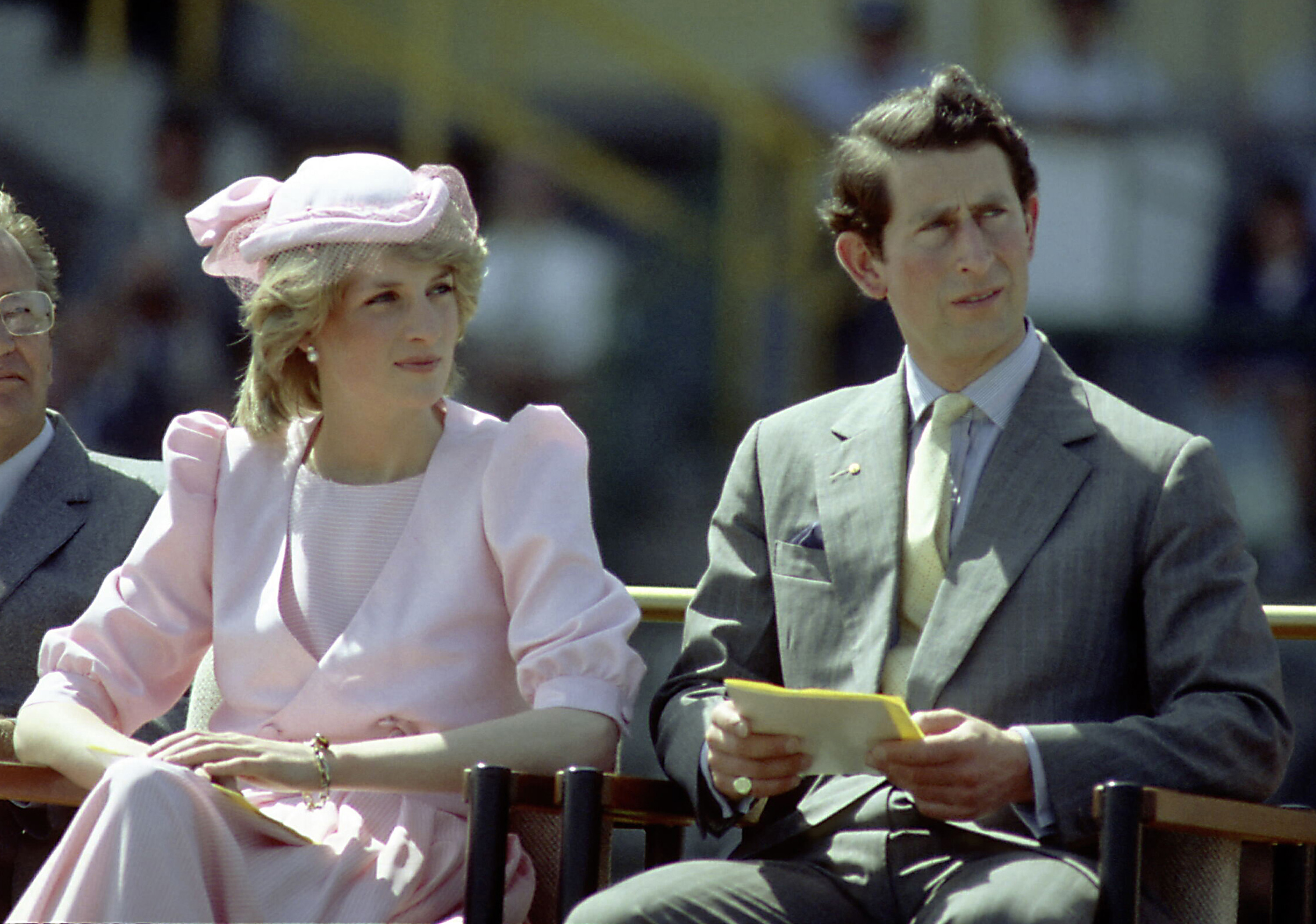 Princess Diana And Prince Charles In Australia.