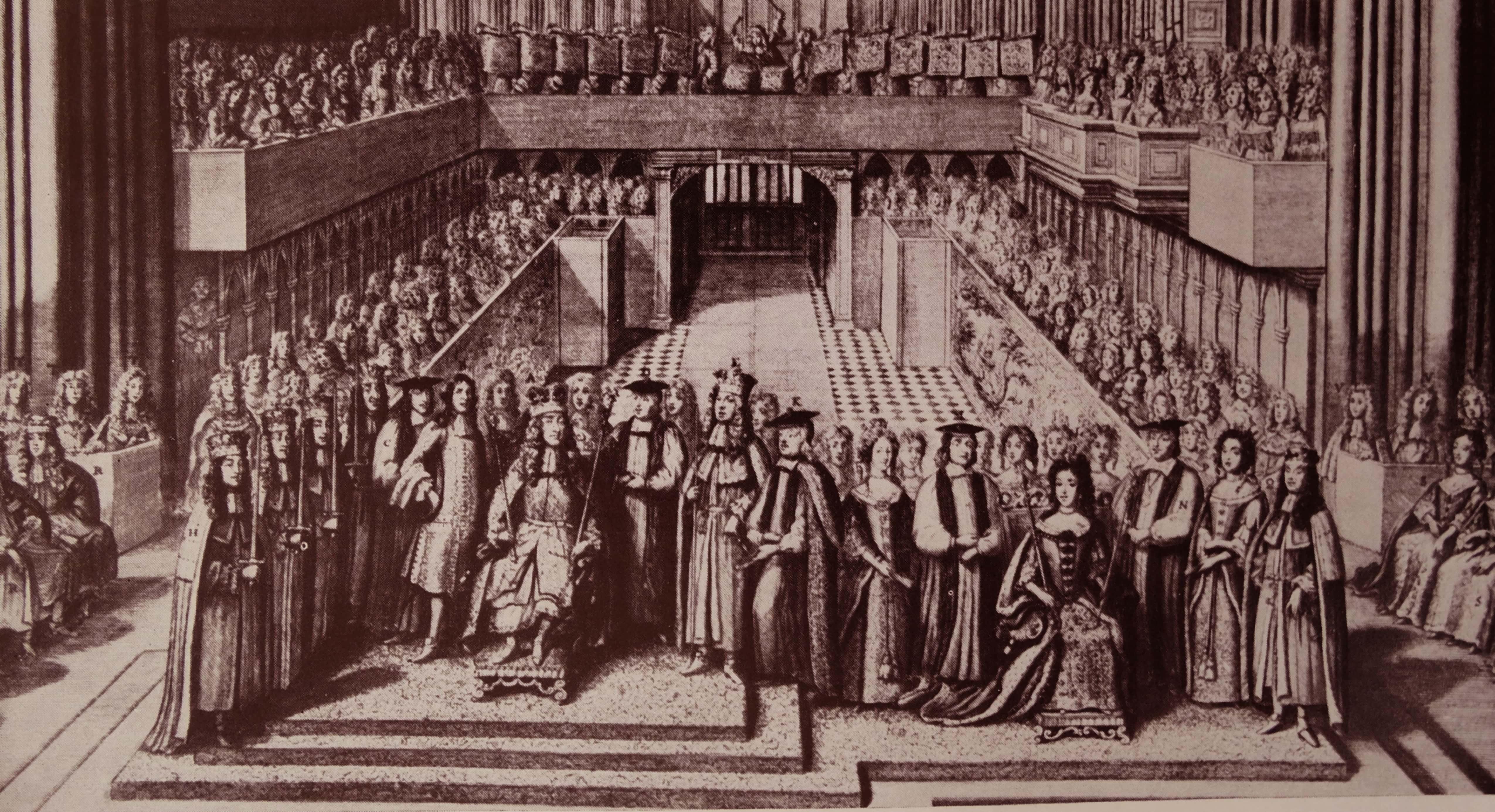Coronation of King James II.
