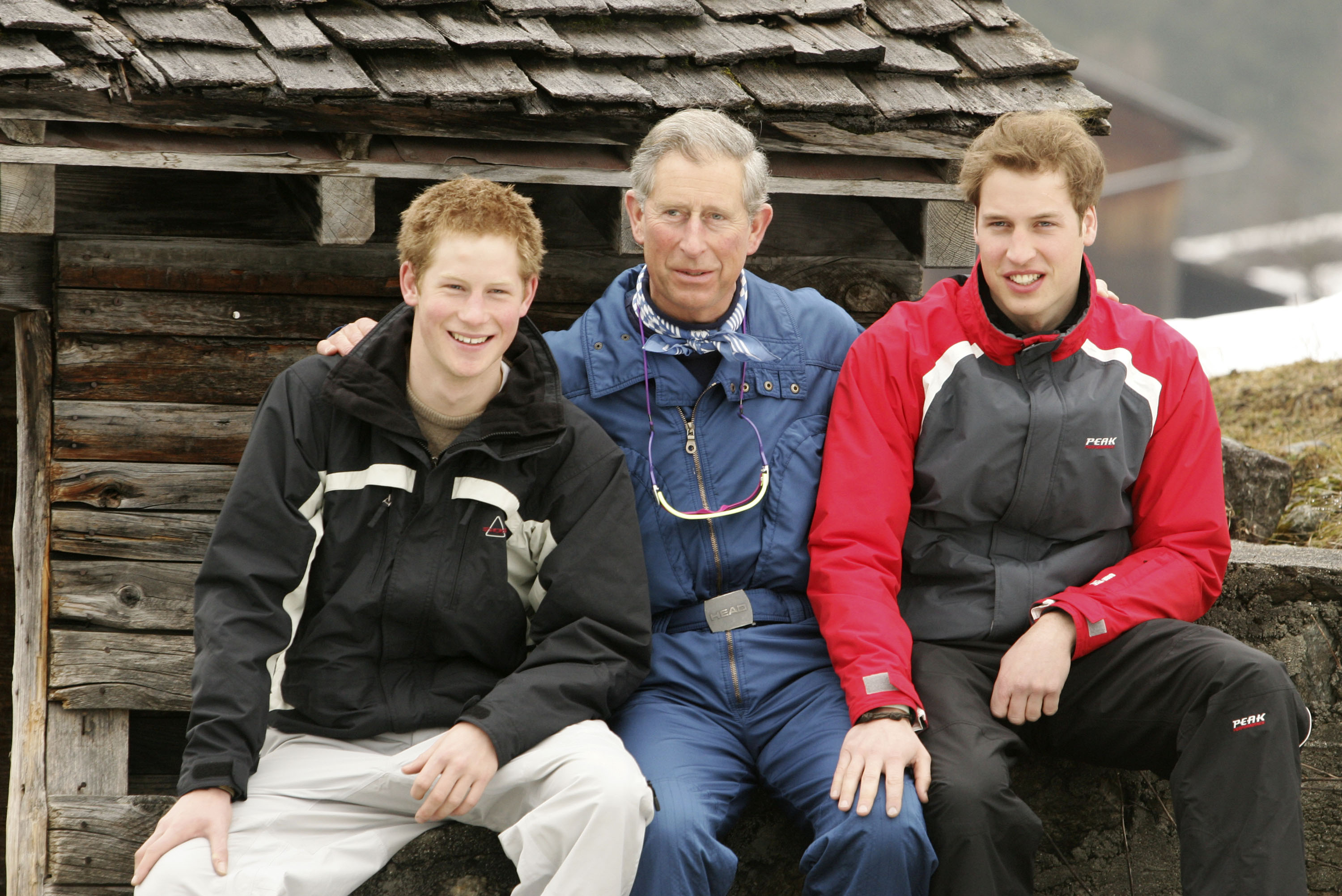 HRH Prince Of Wales & Family Enjoy Skiing Holiday In Klosters.