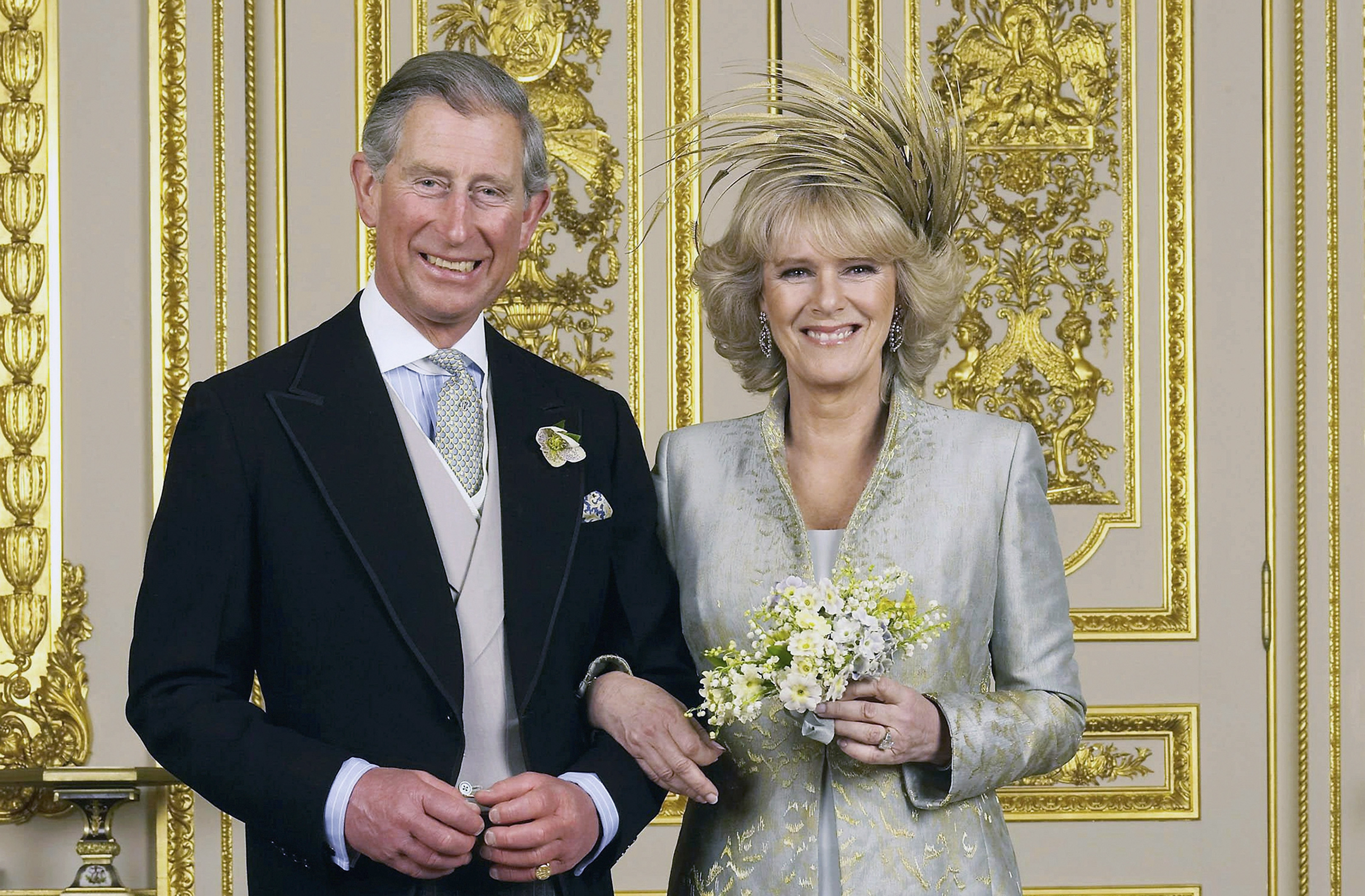 TRH Prince of Wales & The Duchess Of Cornwall - Official Wedding Photo.
