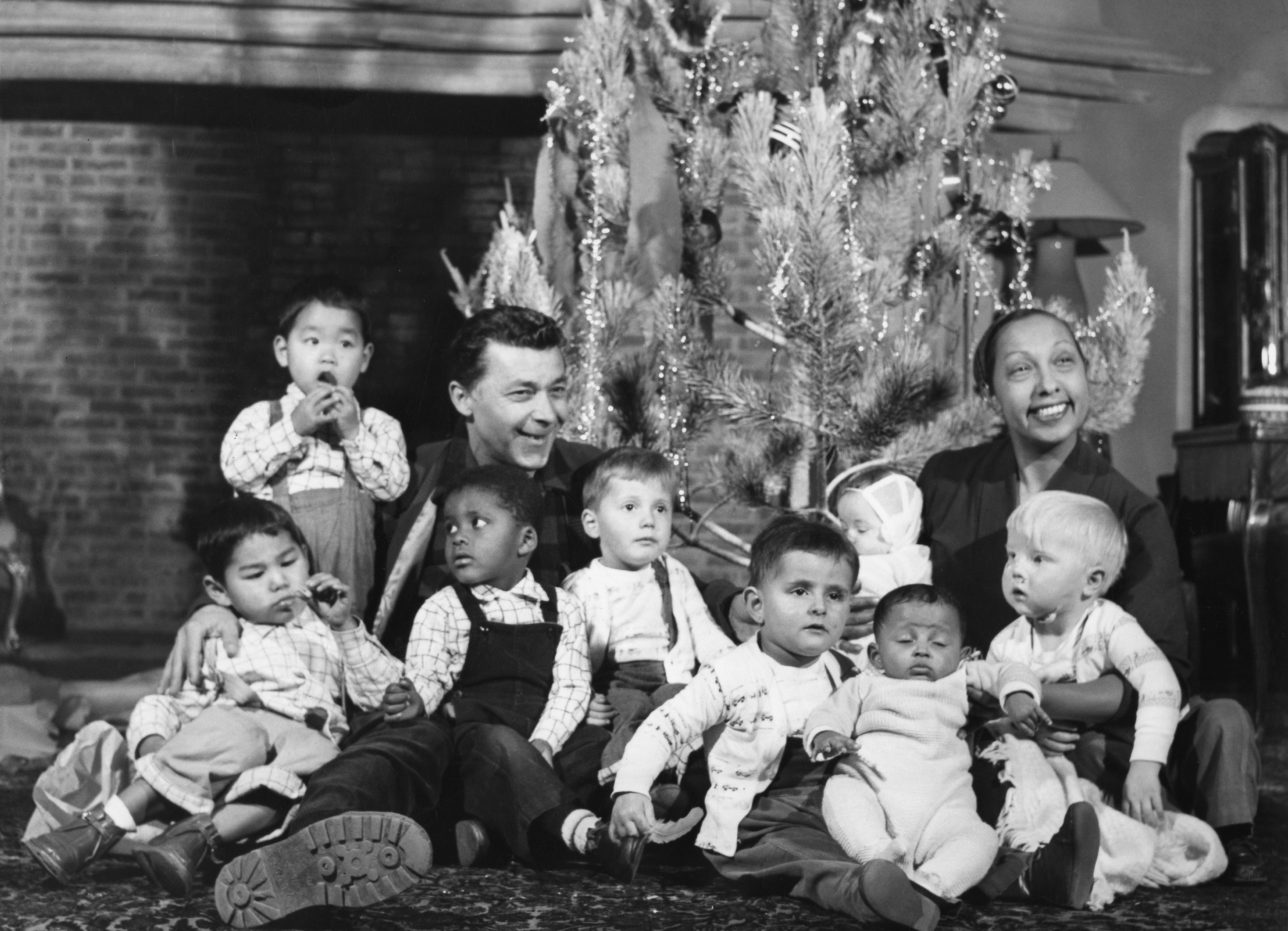 Josephine Baker with her family.