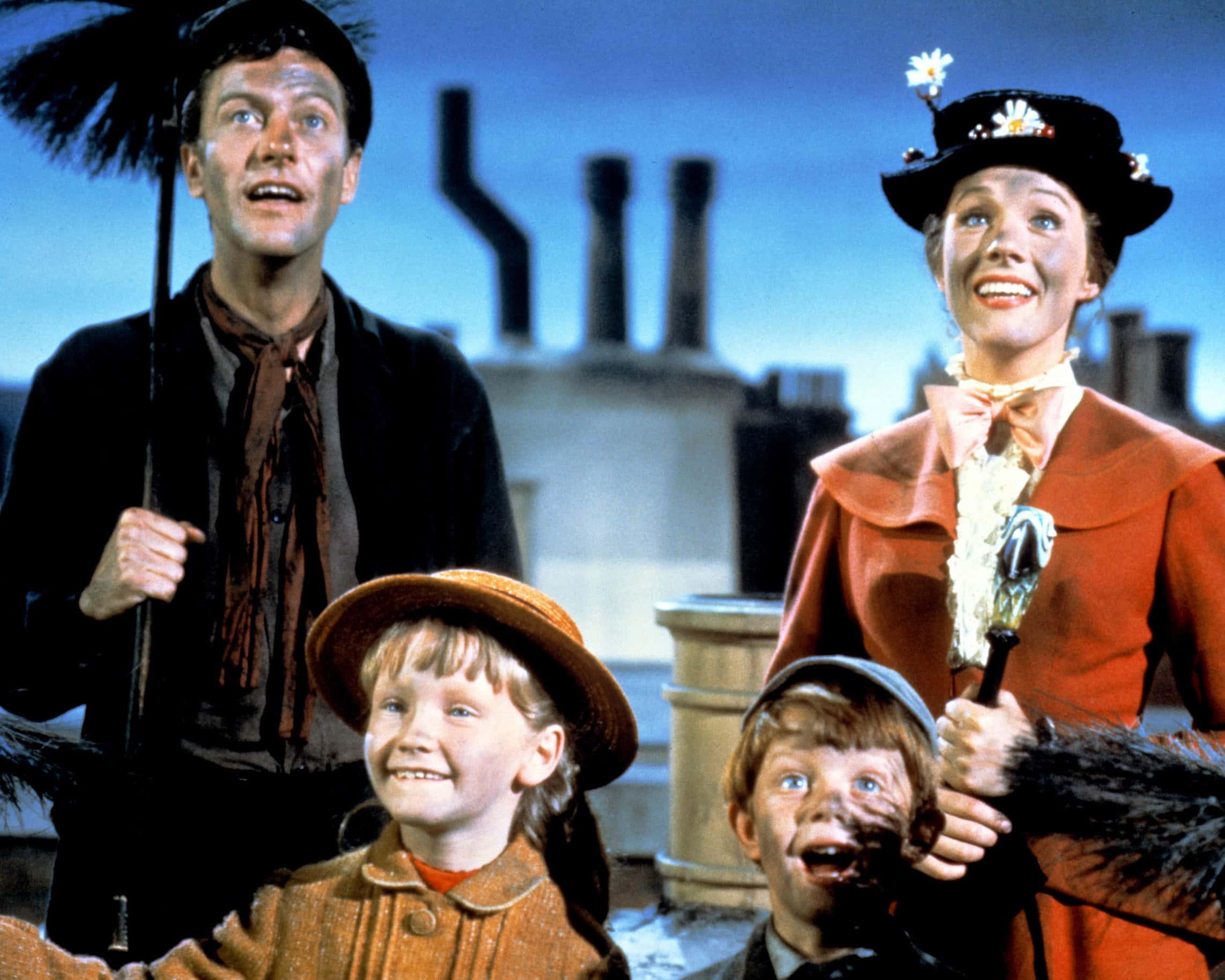 Chim Chiminey. 'Marry Poppins' movie scene.