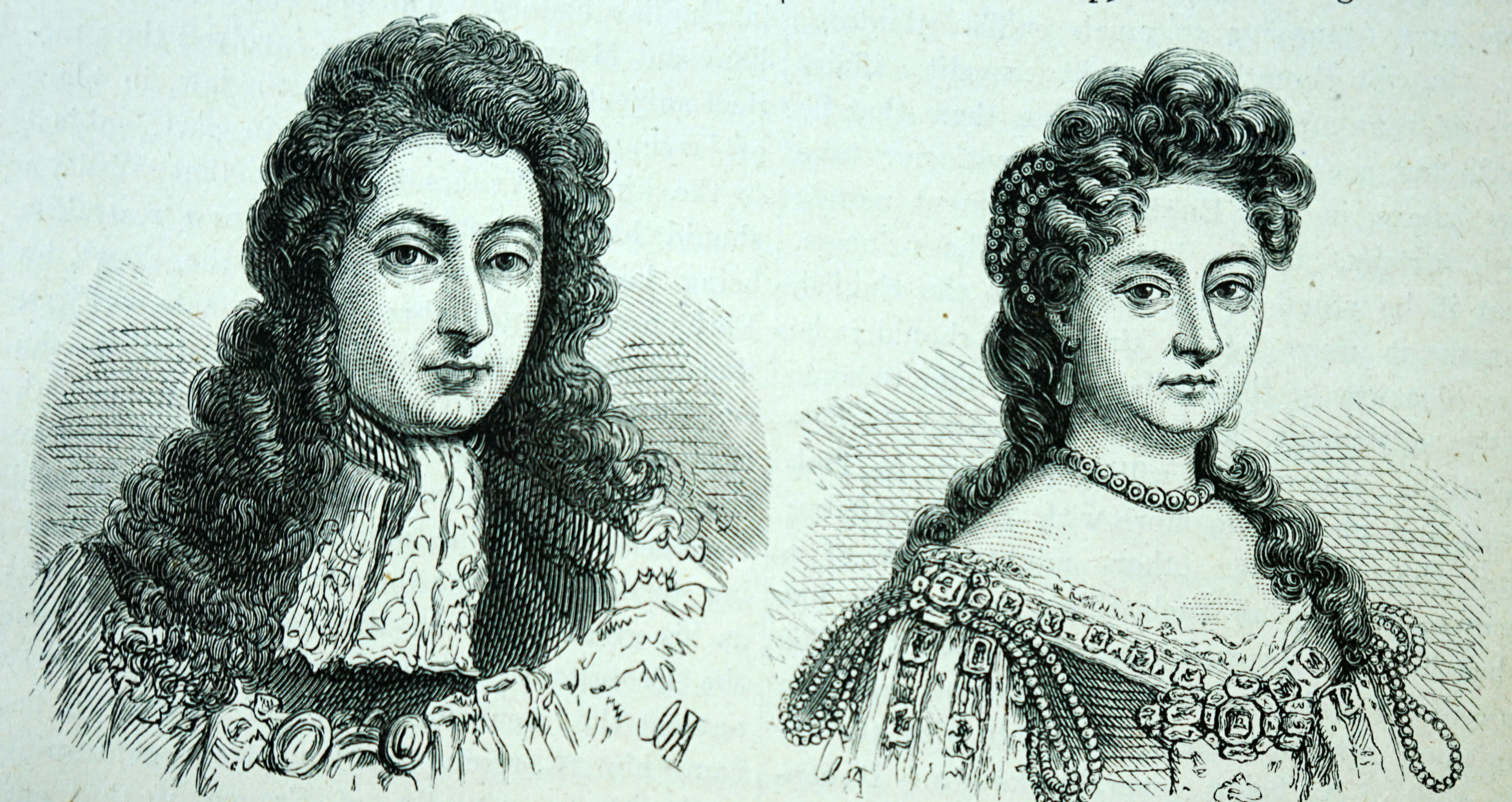 William and Mary of the Kingdoms of England, Scotland and Ireland.