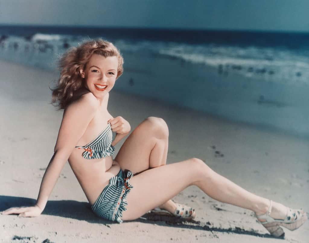 American actress Marilyn Monroe.