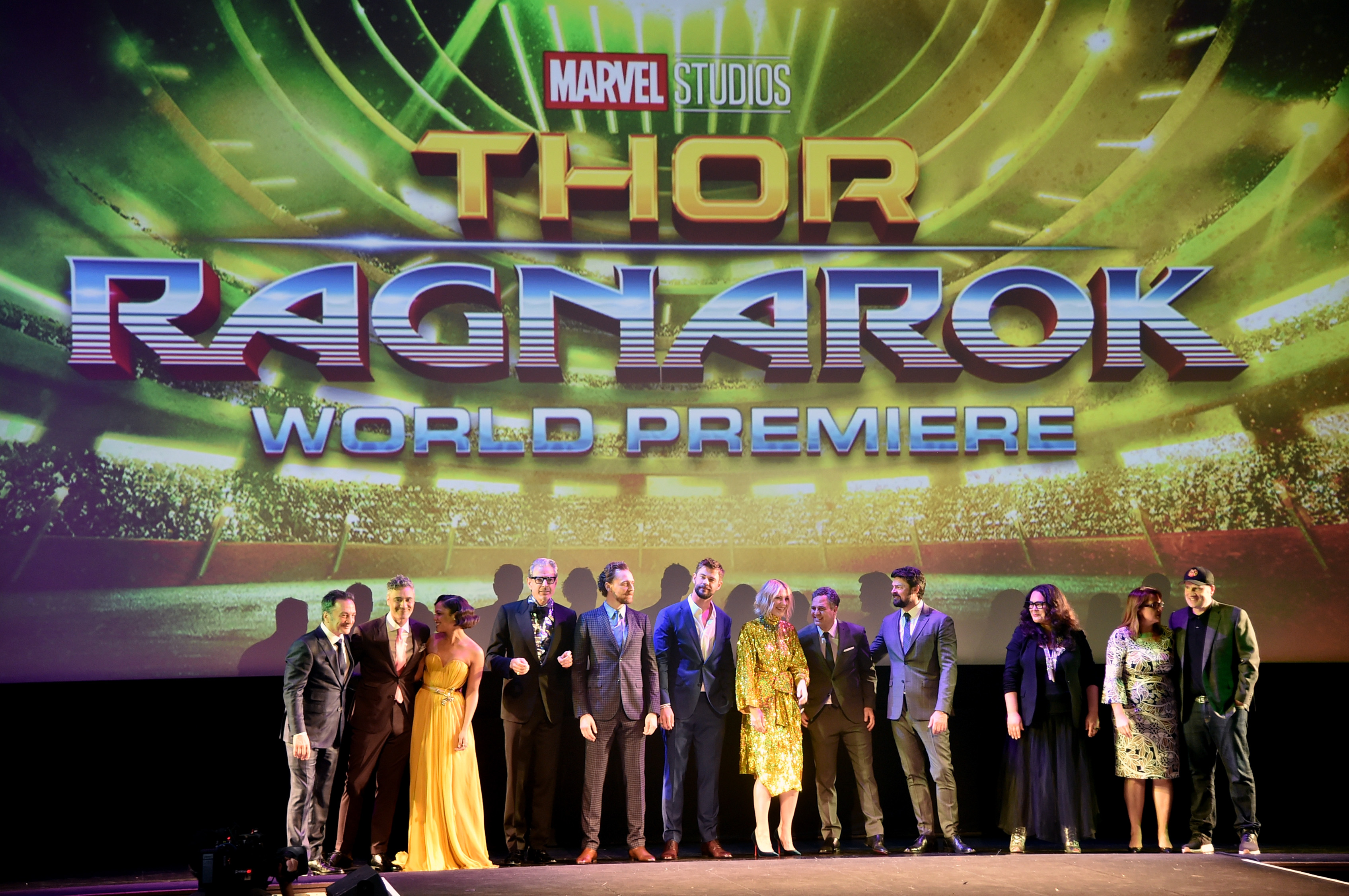 The World Premiere Of Marvel Studios' 'Thor: Ragnarok'.
