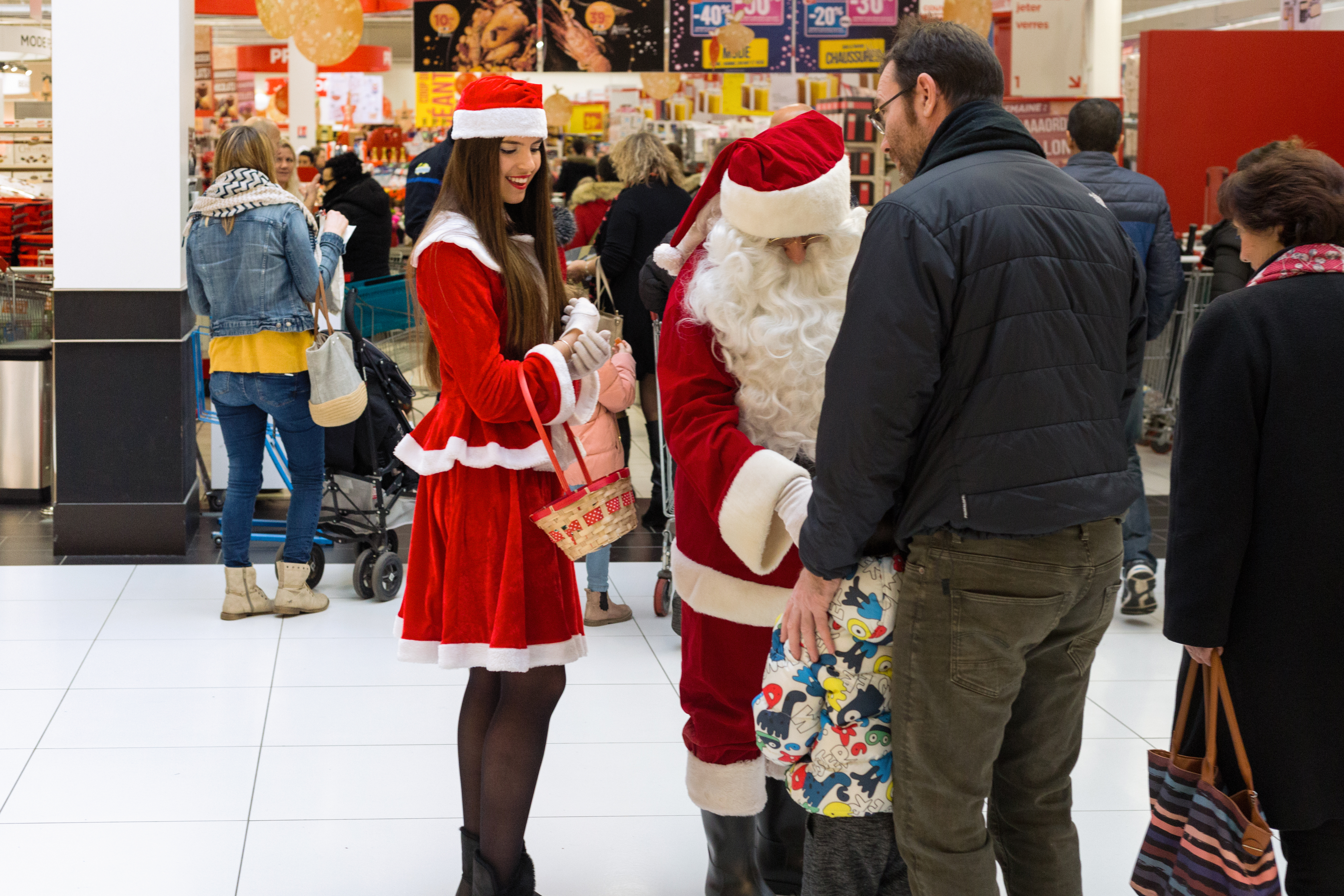Mall Santa Experiences facts