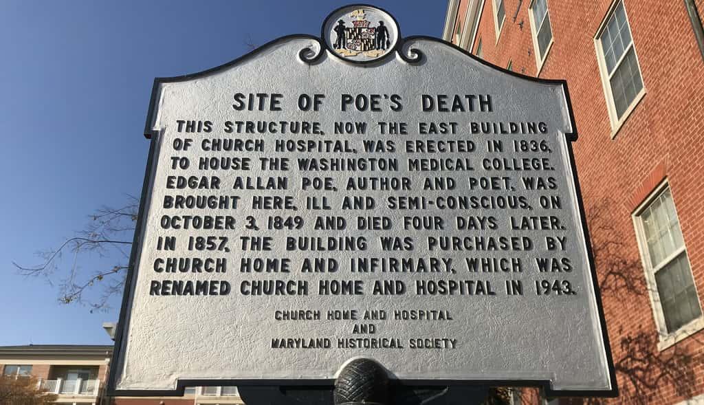 The Death of Edgar Allen Poe